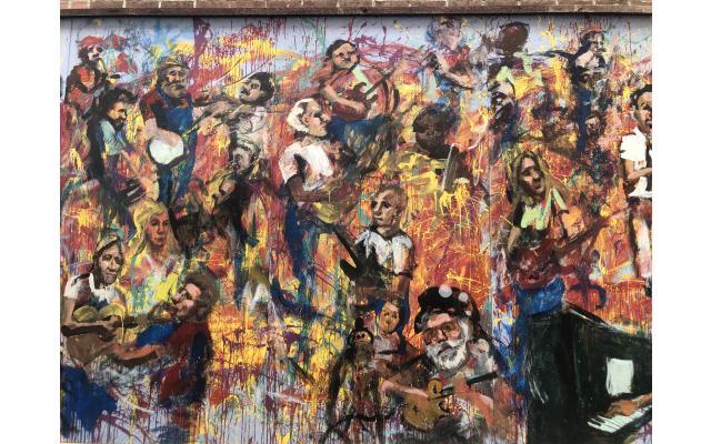 Jammin Mural