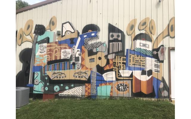 Jazz Action Heroes Mural