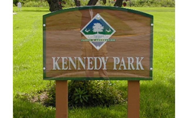 Kennedy Park Sign