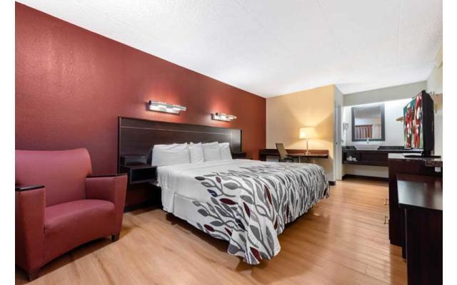 Red Roof Inn Single Room