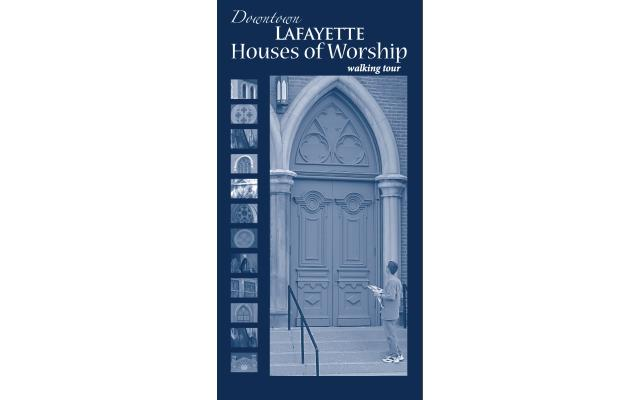 Downtown Lafayette Houses of Worship Brochure