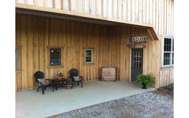Silverthorn Farm Porch Entry