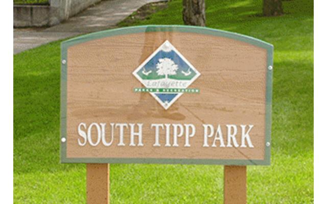 South Tipp Park Sign