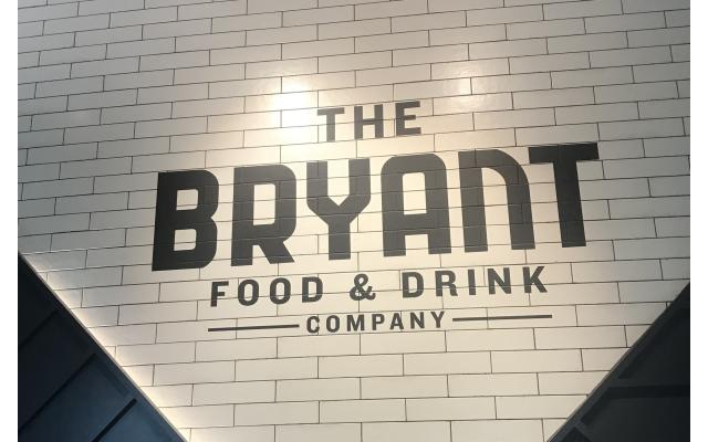 The Bryant Name on Wall