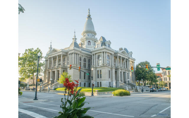 Tippecanoe County Courthouse Summer