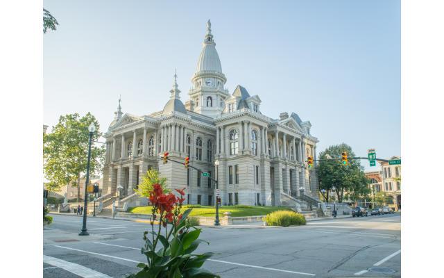 Tippecanoe County Courthouse Summer
