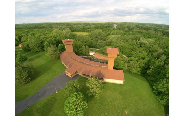 Tippecanoe County Government Aerial View