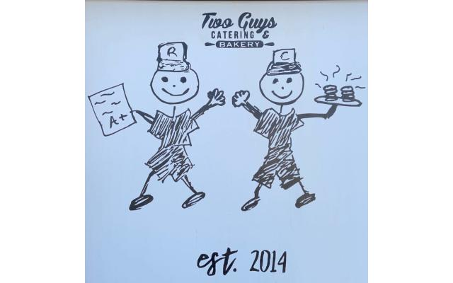 Two Guys Catering & Bakery Logo