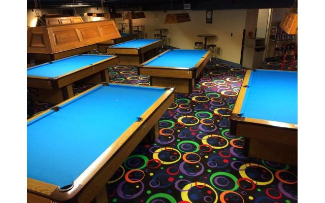 Union Rack and Roll Pool Tables