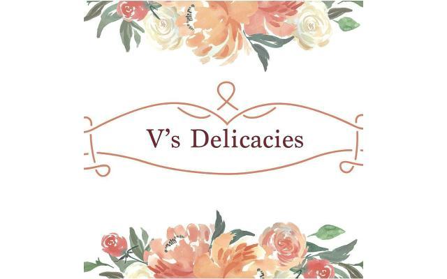 V's Delicacies Catering Logo