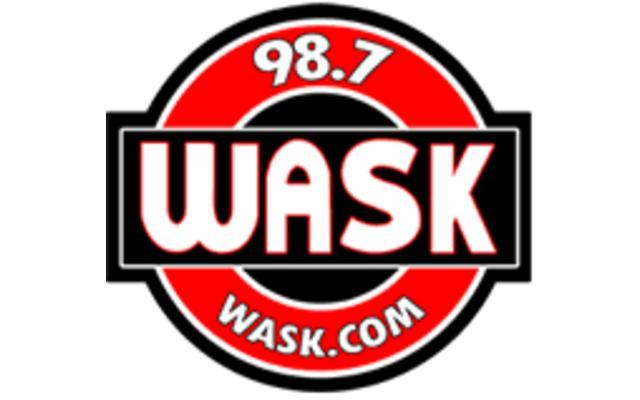 WASK 98.7 logo