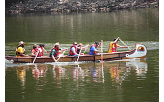 Wabash River Child Canoe Paddle