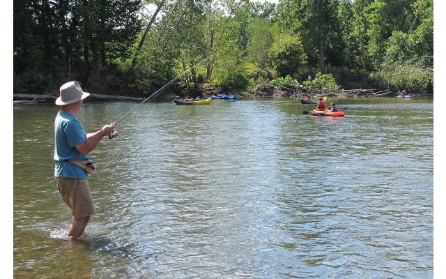 Wildcat Creek Park Fishing