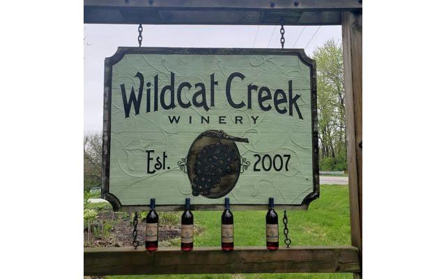 Wildcat Creek Winery Sign