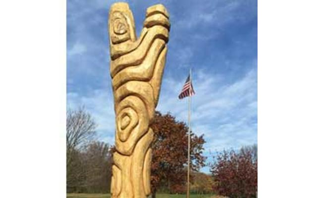 Ash Tree Carving