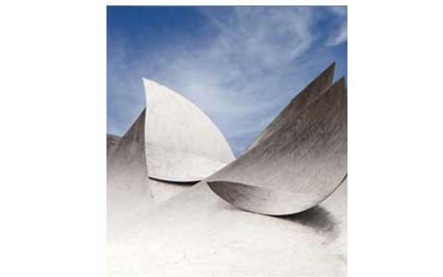Wabash Waves Sculpture
