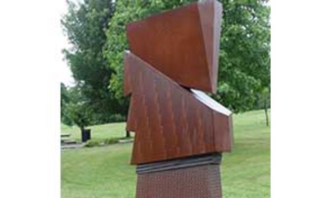 Zig Sculpture at Purdue