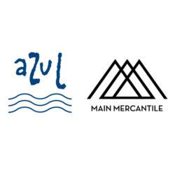 Azul Gallery and Main Mercantile logo