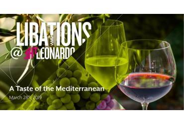 Libations at The Leonardo: A Taste of the Mediterranean