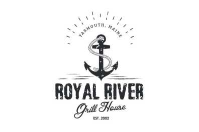 Royal River Grill House Logo