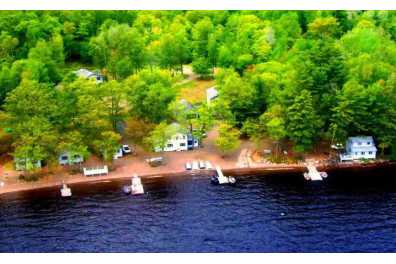 Shoreline Camps on Big Lake
