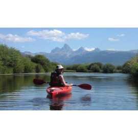 Floating Teton River