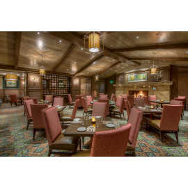 Lucky H Bar and Grille Dining Area