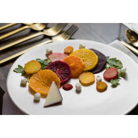 Colorful beet salad