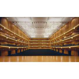 Abravanel Hall Stage to House