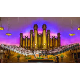 Mormon Tabernacle Choir - longest running broadcast in the world