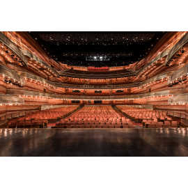 Eccles Theater Stage to House