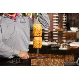 Grilled pineapple at Rodizio Grill