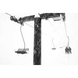 Snowy day on Wildcat lift