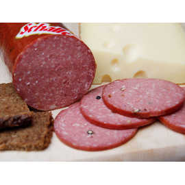 We have delicious Cervelat (German Salami) for cold cuts or sandwiches