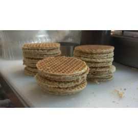 Delicious Stroopwafel cookies
