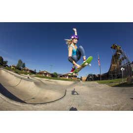 Skateboarding at Woodward Park City