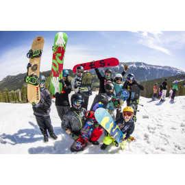 Snowboarding at Woodward Park City