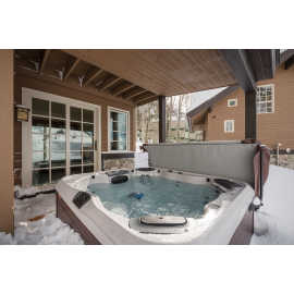 Private Outdoor Hot Tub The Village at Sugar Plum 12
