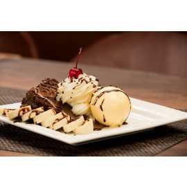 Bolo Brigadeiro dessert at Rodizio Grill
