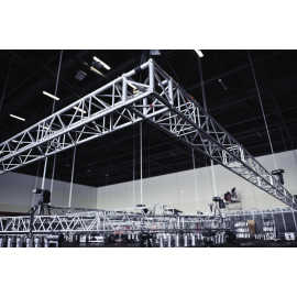 Flown Truss Rigging for large Concert or Corporate Event for hanging audio, video, lighting