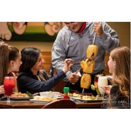 Guests dining at Rodizio Grill