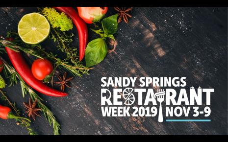 Sandy Springs Restaurant Week 2019 Sandy Springs Ga