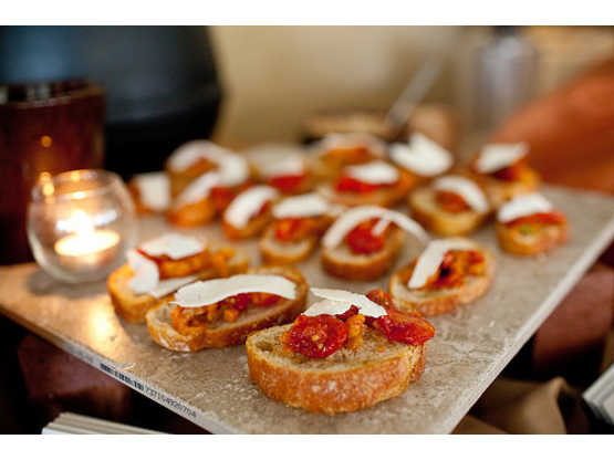 Appetizers by Mazzone Catering