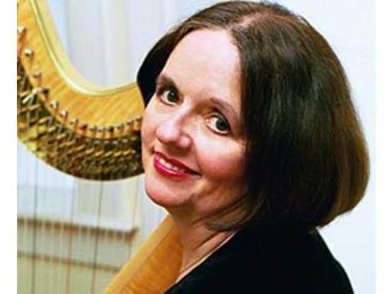 Elizabeth Meriwether Huntley, Harpist