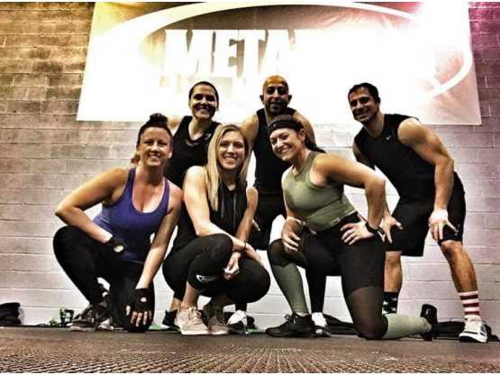 Metabolic group pose