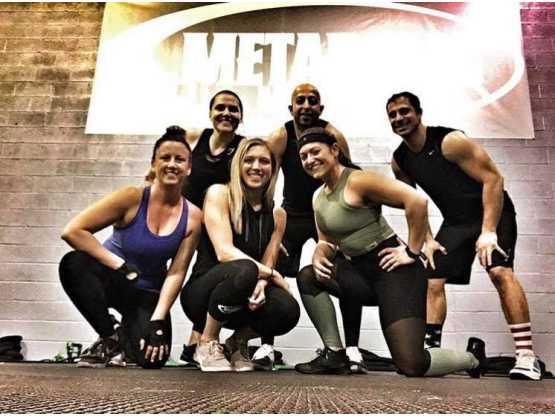 Metabolic group pose