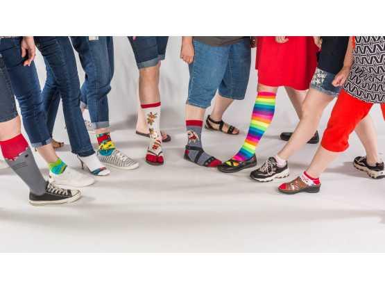 Clipper Magazine socks