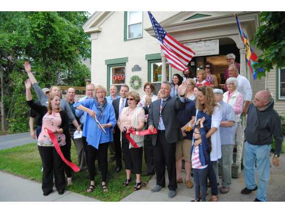 ADK Regional Chamber of Commerce ribbon cutting
