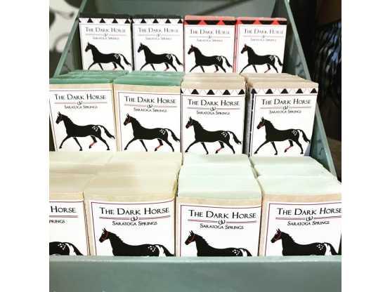 Dark Horse Mercantile display of soaps