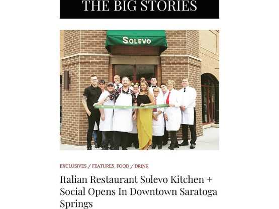 Solevo ribbon cutting
